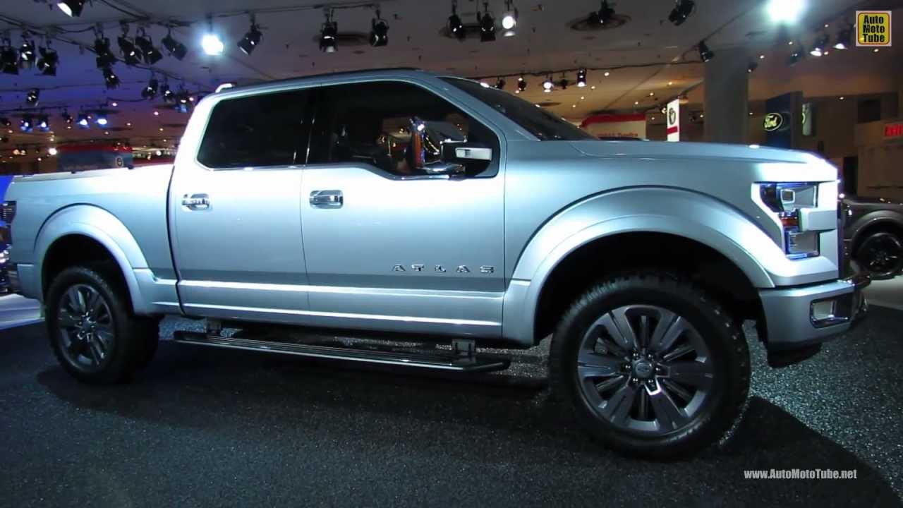 2015 Ford F150 Atlas Concept  Exterior Walkaround  2013 New