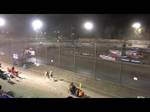 Grant Duinkerken Racesaver 305 Sprint Car Bakersfield Speedway 7-15-17