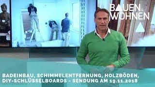 Garten winterfit, Schimmelentfernung, schicke Holzböden, neues Bad - Sendung am 19.11.2018 thumbnail