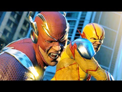 Injustice 2 All Reverse Flash Cutscenes 4k Ultra HD 2160p
