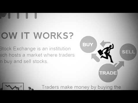 How the stock market works | vintage animation