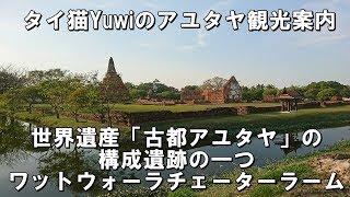 ワット ウォーラチェーターラーム / 世界遺産「古都アユタヤ」の構成遺跡の一つ thumbnail