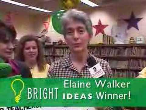 Bright Ideas - Elaine Walker wins a Grant