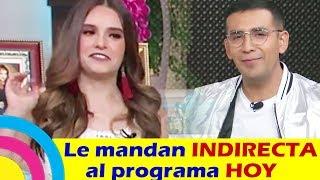 El Capi y Tania Rincón ENVÍAN INDIRECTA al PROGRAMA HOY por COPIONES (video)