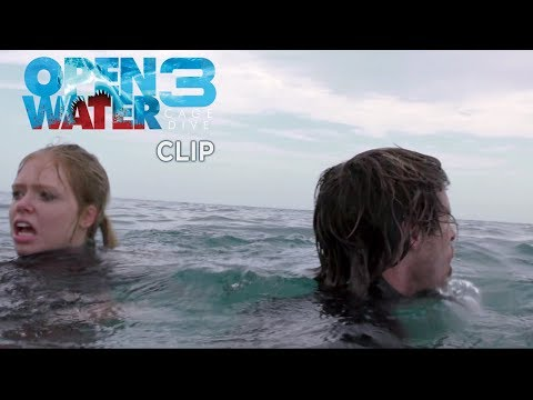 "Open Water 3 - Cage Dive - Clip ""In mare"""