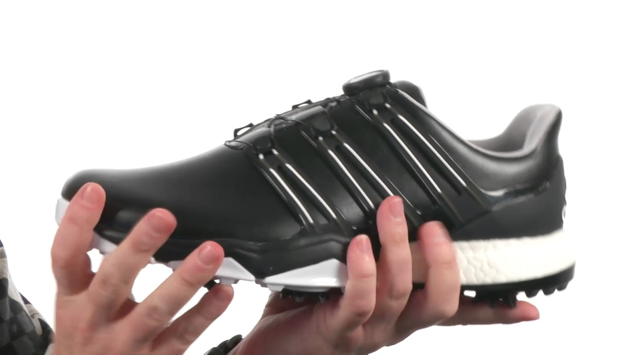 fb8fd17c71f7c0 adidas Golf Powerband Boa Boost SKU 8824565 - YouTube
