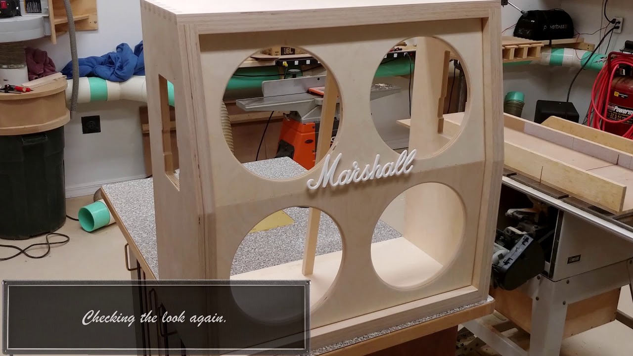 Download DIY 4x12 Marshall Cabinet Clone Build