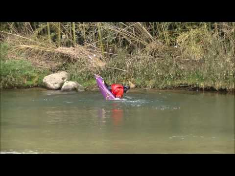 2017 4 27 HIROSHIMA still water freestyle kayaking