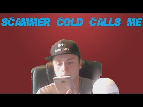Stupid UK Debt Scammer Cold Calls Me!