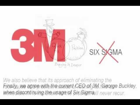 six sigma at 3m inc 3m's six business segments bring together common or related 3m  the  company utilizes various tools, such as lean six sigma, to improve.