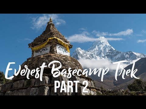 Everest Basecamp Trek (Days 4-6: Namche to Dingboche) I Nepal Travel Vlog 004