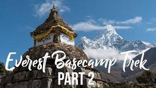 Everest Basecamp Trek (Days 4-6: Namche to Dingboche) I Nepal Travel Vlog 004