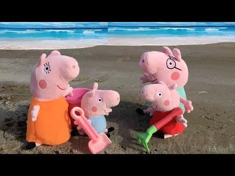 Peppa Pig En Español Fiesta Y Juegos En La Playa Nuevos Capitulos
