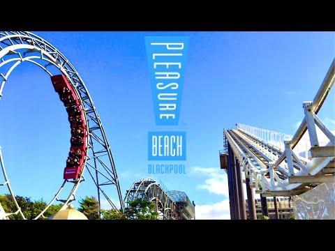 Blackpool Pleasure Beach TPW Event Vlog 16th July 2016
