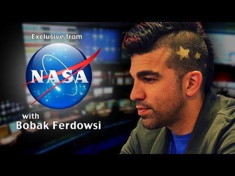 EXCLUSIVE Meet NASAs Mohawk Guy Bobak Ferdowsi YouTube