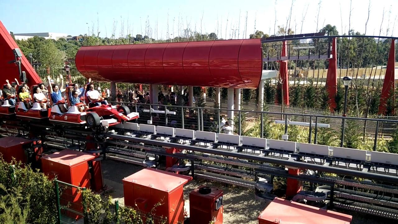 ferrari land barcelona red force top european attraction 2017 youtube. Black Bedroom Furniture Sets. Home Design Ideas