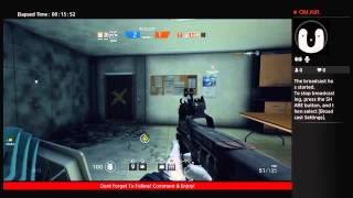 R6 Siege Gameplay wit cha Angry