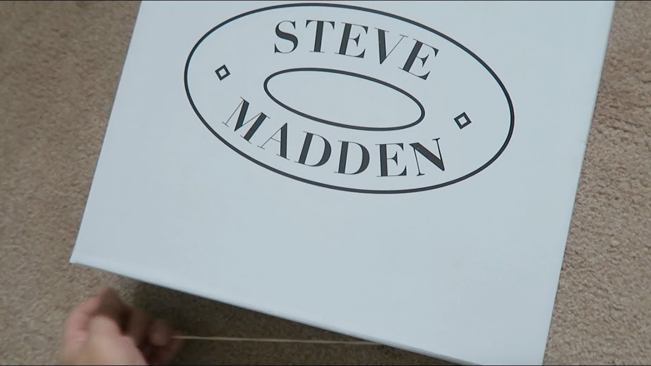 c684ec0dd4c94 Unboxing of Steve madden boots Ryder and olly - YouTube