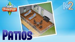 Sims Freeplay - Diy Homes 1 - Patio Quest (tutorial & Walkthrough)
