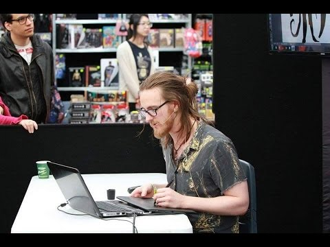 Introduction to Character & Creature Design | Oz Comic-Con Sydney 2015