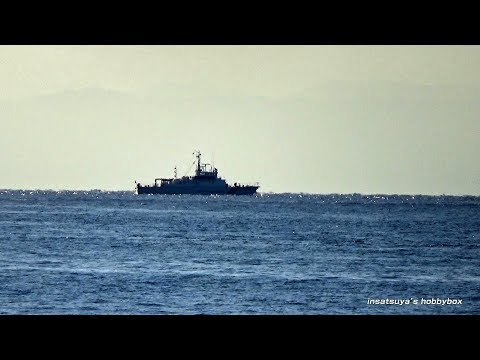 YTE 13 YTE 14 海上自衛隊 練習船 Japan Maritime Self-Defense Force