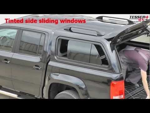 At www.accessories-4x4.com: VW Amarok ABS canopy off road 4x4 accessories volkswagen hard top vs