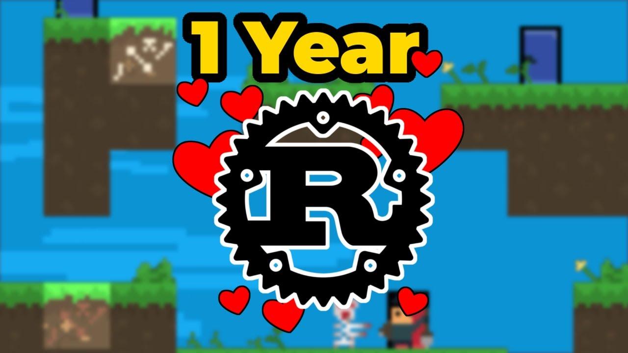 1 Year of Rust Game Development