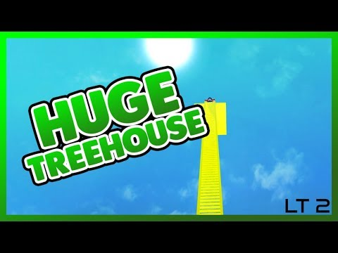 [Roblox] Lumber Tycoon 2: MASSIVE GOLDEN TREE HOUSE (SINGLES DAY)