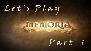 Memoria Gameplay Walkthrough + Commentary Let's Play - Part 1