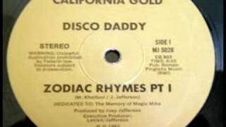 Disco Daddy - Zodiac Rhymes