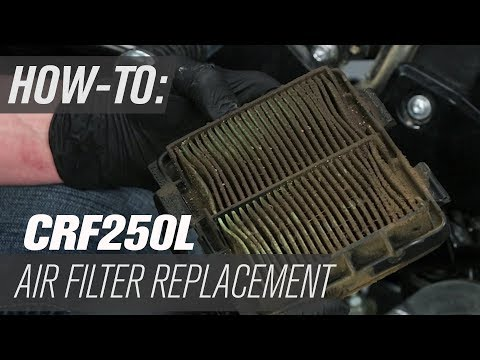 How To Replace The Air Filter On A Honda CRF250L / Rally