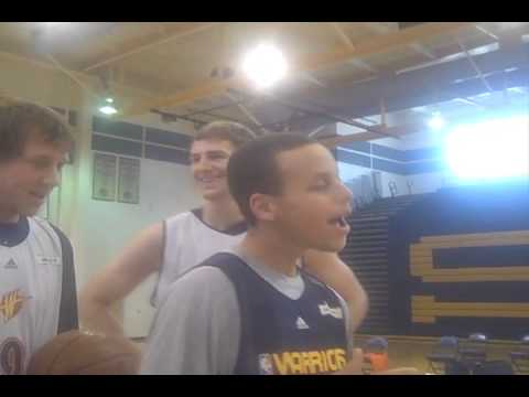 Warriors Rookies Sing Happy Birthday To Anthony Randolph