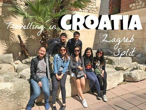 [Travel Vlog旅游日记] Croatia- Zagreb & Split 克罗埃西亚游记 萨格勒布和斯普利特