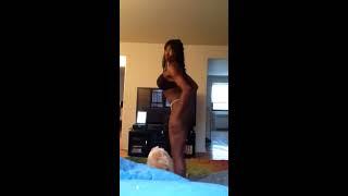 Dancing Sexy In Bikini