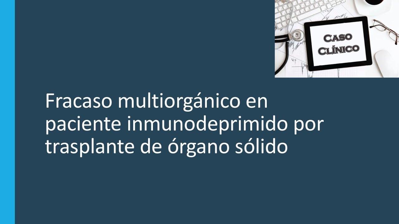 Pacientes inmunodeprimidos en ingles