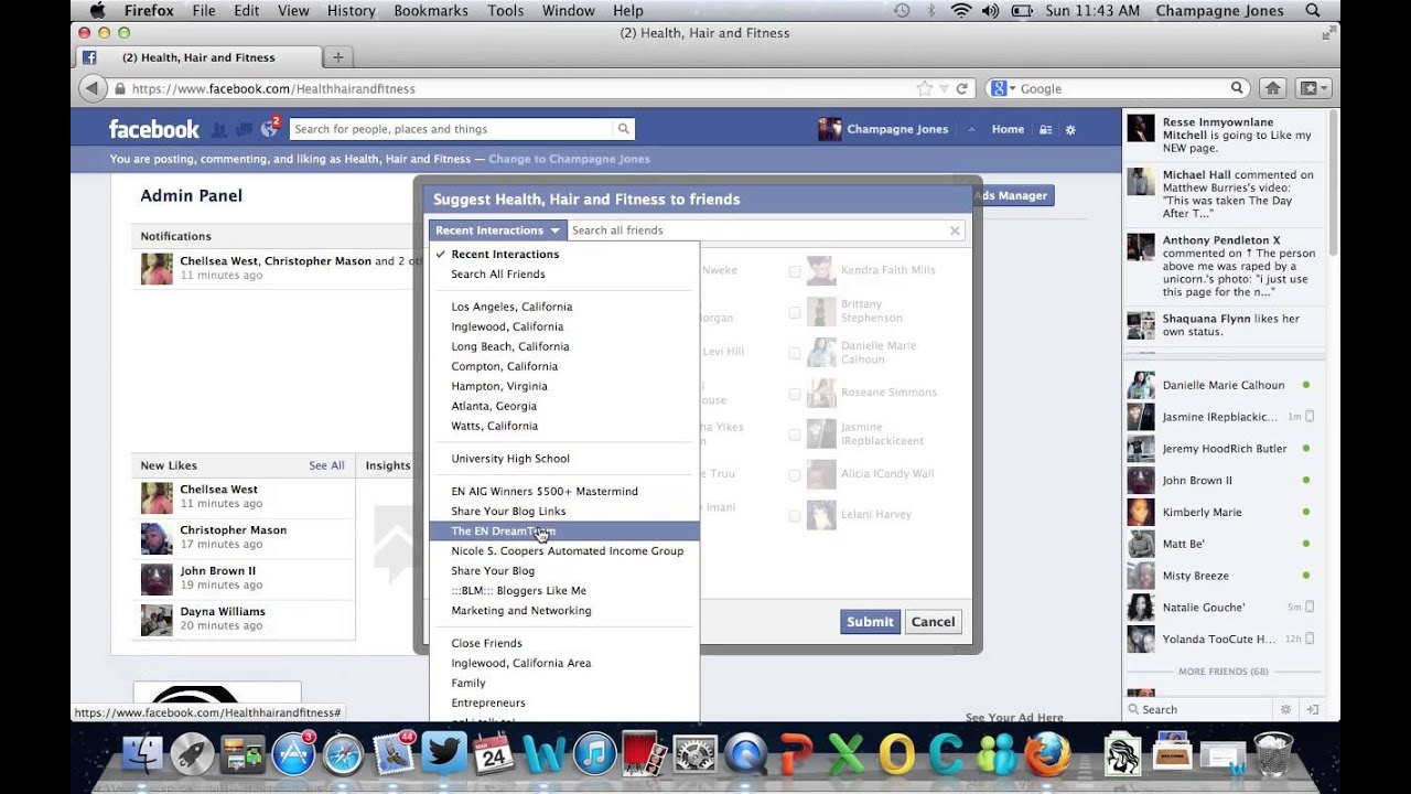 How To Invite All Friends On Facebook Cheat Code Youtube