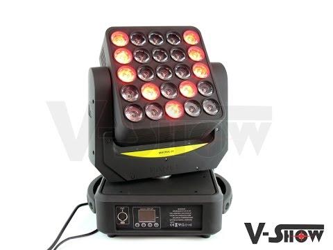 Matrix Beam Moving Head LED 25*10W RGBW CREE RGBW