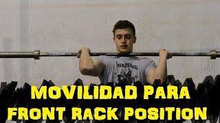 Movilidad para Front Rack Position