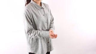 (유료패턴 Paid pattern) 스텐칼라 루즈핏 긴…