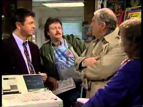 Coronation Street - Jim McDonald With Des Barnes In Shop 1996