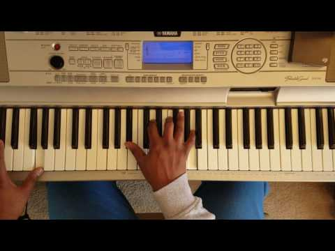 """Beyonce feat Drake """"Mine"""" easy piano tutorial"""