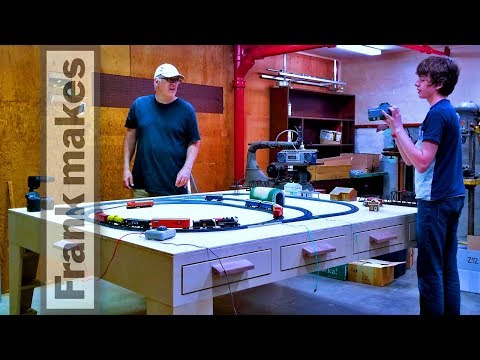 Building a Model Train Table