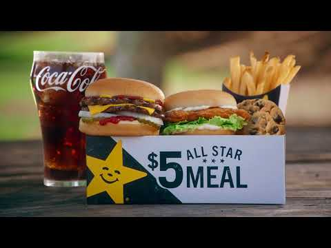 Goodness | $5 All Star Meals | Hardee's