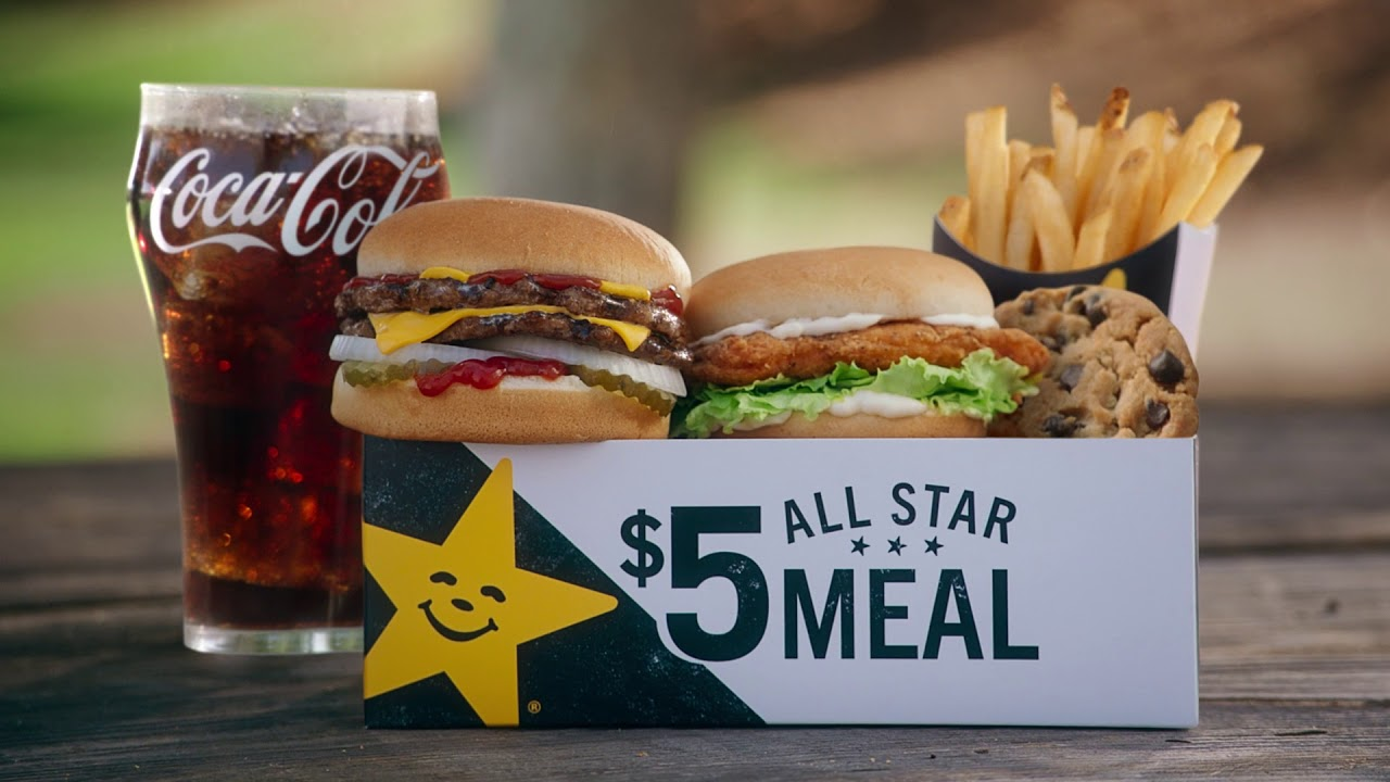 Goodness 5 All Star Meals Hardees