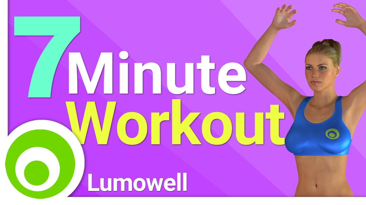 7 minute workout ejercicios para quemar grasa y bajar de peso r pido y f cil youtube. Black Bedroom Furniture Sets. Home Design Ideas