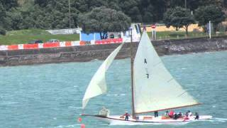 Classic NZ Yachts racing off Birkenhead Auckland NZ