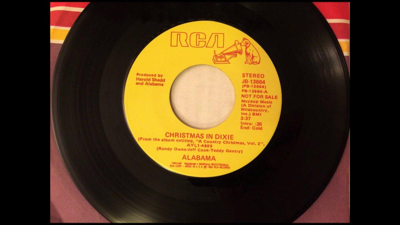 Christmas In Dixie , Alabama , 1982 - YouTube