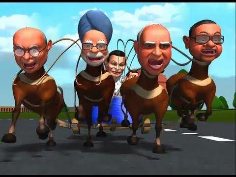 So Sorry  - Aaj Tak - So Sorry: Enjoy the first ever chariot race for 2014 Lok Sabha polls