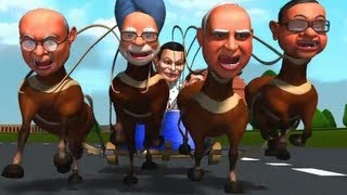 So Sorry: Enjoy the first ever chariot race for 2014 Lok Sabha polls