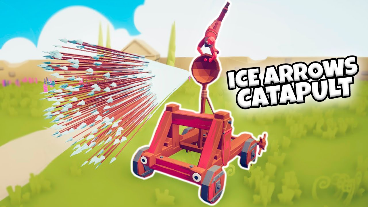 ICE ARROWS CATAPULT VS EVERY FACTION | TABS MODDED GAMEPLAY